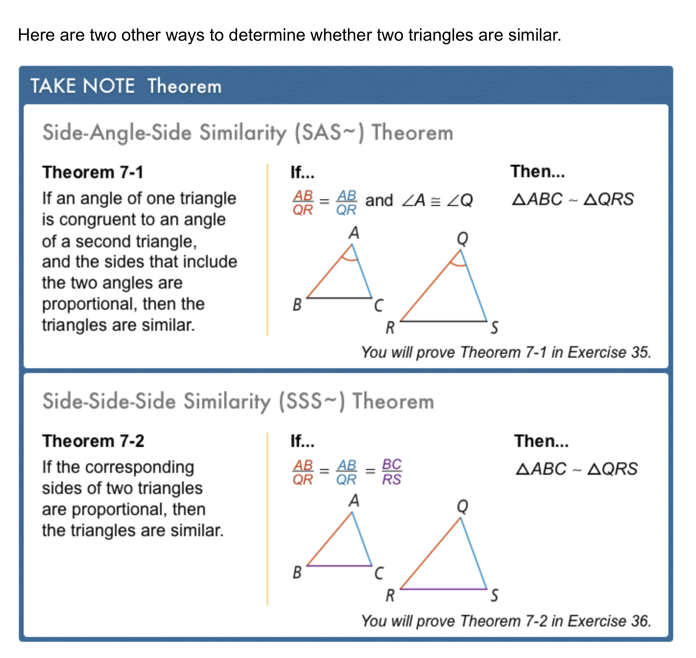 Geometry 24-24 Complete Lesson: Proving Similar Triangles - Matthew Regarding Proving Triangles Similar Worksheet
